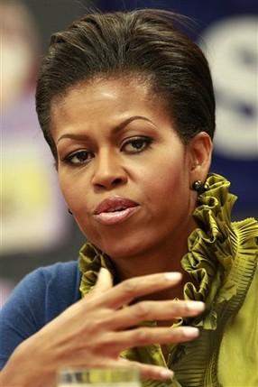 Миссис первая леди Michelle-obama-dress-ruffle-color-hollins-meadows